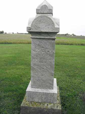 WALLACE, ROSS H. - Union County, Ohio | ROSS H. WALLACE - Ohio Gravestone Photos