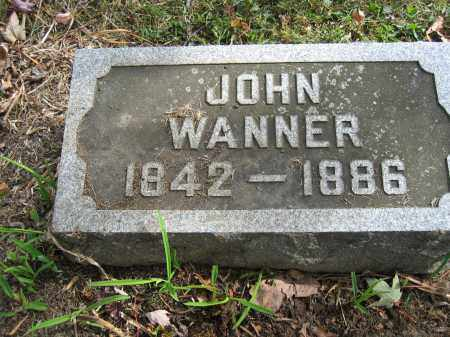 WANNER, JOHN - Union County, Ohio | JOHN WANNER - Ohio Gravestone Photos