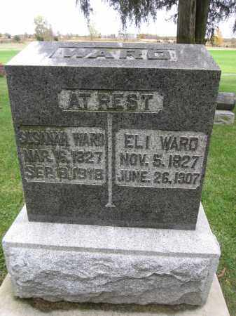 WARD, SUSANAH - Union County, Ohio | SUSANAH WARD - Ohio Gravestone Photos
