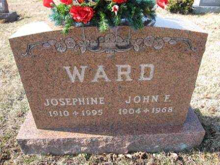 WARD, JOHN F. - Union County, Ohio | JOHN F. WARD - Ohio Gravestone Photos