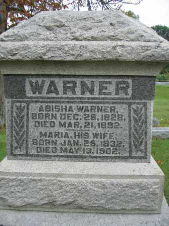 WARNER, MARIA - Union County, Ohio | MARIA WARNER - Ohio Gravestone Photos