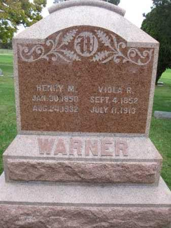 WARNER, HENRY M - Union County, Ohio | HENRY M WARNER - Ohio Gravestone Photos