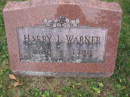 WARNER, HENRY L. - Union County, Ohio | HENRY L. WARNER - Ohio Gravestone Photos
