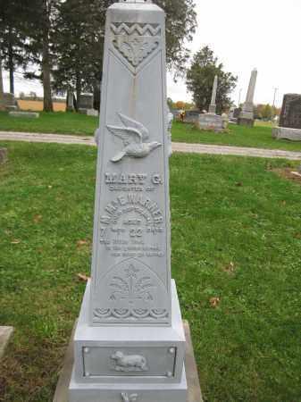 WARNER, MARY G. - Union County, Ohio | MARY G. WARNER - Ohio Gravestone Photos