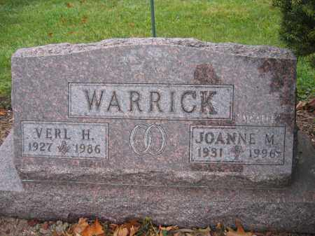 WARRICK, VERL H. - Union County, Ohio | VERL H. WARRICK - Ohio Gravestone Photos
