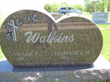 WATKINS, SHADE - Union County, Ohio | SHADE WATKINS - Ohio Gravestone Photos