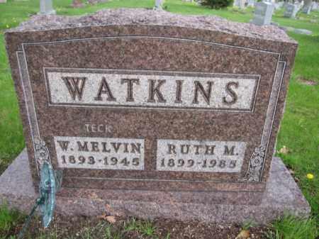 WATKINS, W. MELVIN - Union County, Ohio | W. MELVIN WATKINS - Ohio Gravestone Photos