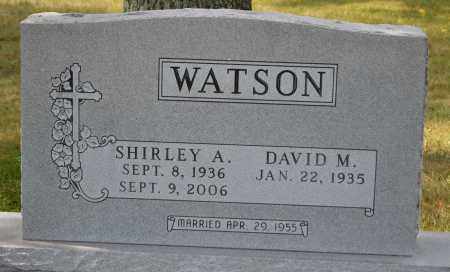 WATSON, DAVID M. - Union County, Ohio | DAVID M. WATSON - Ohio Gravestone Photos