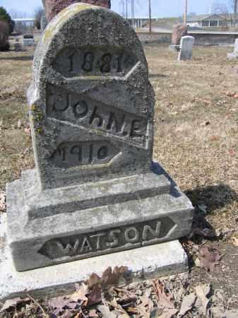 WATSON, JOHN E. - Union County, Ohio | JOHN E. WATSON - Ohio Gravestone Photos