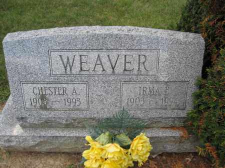 WEAVER, IRMA F. - Union County, Ohio | IRMA F. WEAVER - Ohio Gravestone Photos
