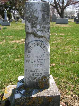WEAVER, ESTELLA - Union County, Ohio | ESTELLA WEAVER - Ohio Gravestone Photos