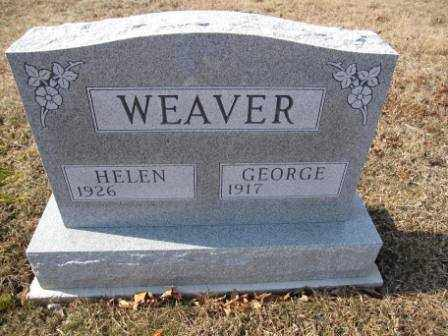 WEAVER, HELEN - Union County, Ohio | HELEN WEAVER - Ohio Gravestone Photos