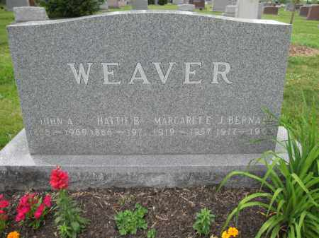 WEAVER, JOHN A. - Union County, Ohio | JOHN A. WEAVER - Ohio Gravestone Photos