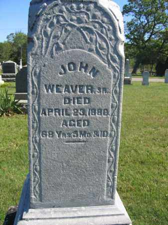 WEAVER, JOHN - Union County, Ohio | JOHN WEAVER - Ohio Gravestone Photos