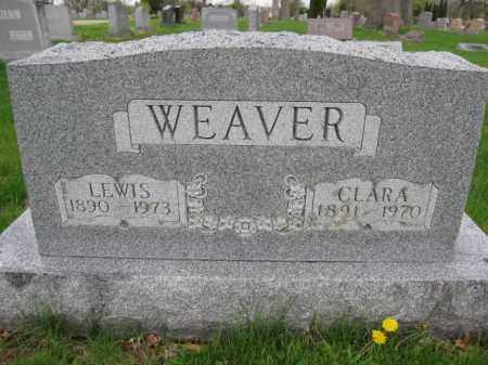 WEAVER, CLARA - Union County, Ohio | CLARA WEAVER - Ohio Gravestone Photos