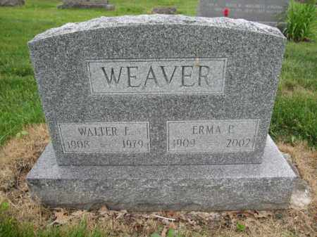 WEAVER, WALTER E. - Union County, Ohio | WALTER E. WEAVER - Ohio Gravestone Photos