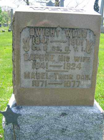 WEBB, DWIGHT - Union County, Ohio | DWIGHT WEBB - Ohio Gravestone Photos