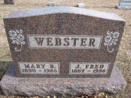 WEBSTER, MARY B. - Union County, Ohio | MARY B. WEBSTER - Ohio Gravestone Photos