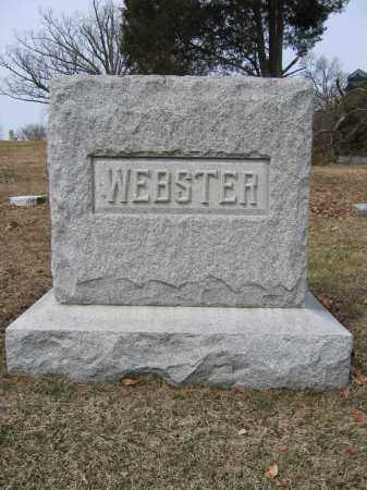 WEBSTER, ELIZABETH - Union County, Ohio | ELIZABETH WEBSTER - Ohio Gravestone Photos