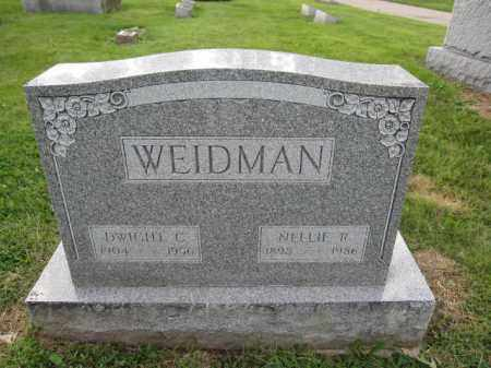 WEIDMAN, DWIGHT C. - Union County, Ohio | DWIGHT C. WEIDMAN - Ohio Gravestone Photos