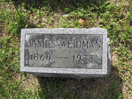 WEIDMAN, JAMES - Union County, Ohio | JAMES WEIDMAN - Ohio Gravestone Photos