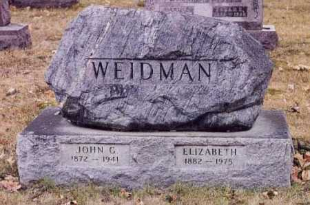 WEIDMAN, ELIZABETH - Union County, Ohio | ELIZABETH WEIDMAN - Ohio Gravestone Photos