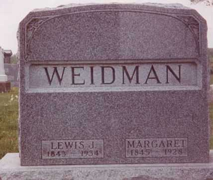 WEIDMAN, LEWIS J - Union County, Ohio | LEWIS J WEIDMAN - Ohio Gravestone Photos