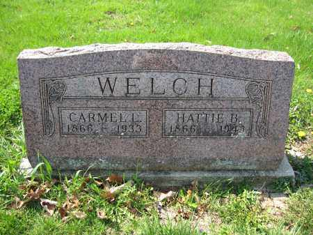 WELCH, CARMEL L. - Union County, Ohio | CARMEL L. WELCH - Ohio Gravestone Photos