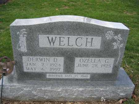 WELCH, OZELLA G. - Union County, Ohio | OZELLA G. WELCH - Ohio Gravestone Photos