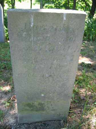 WELCH, HANNAH - Union County, Ohio | HANNAH WELCH - Ohio Gravestone Photos