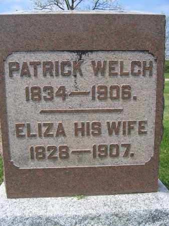 WELCH, PATRICK - Union County, Ohio | PATRICK WELCH - Ohio Gravestone Photos