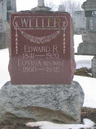 WELLER, LOVINA - Union County, Ohio | LOVINA WELLER - Ohio Gravestone Photos
