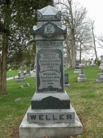 WELLER, AARON J. - Union County, Ohio | AARON J. WELLER - Ohio Gravestone Photos