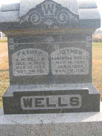 WELLS, SAMANTHA - Union County, Ohio | SAMANTHA WELLS - Ohio Gravestone Photos