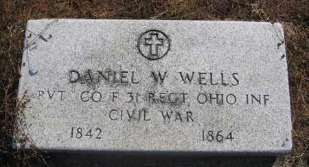 WELLS, DANIEL - Union County, Ohio | DANIEL WELLS - Ohio Gravestone Photos