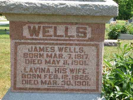 WELLS, LAVINA - Union County, Ohio | LAVINA WELLS - Ohio Gravestone Photos