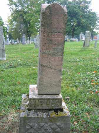 WELLS, REBECCA - Union County, Ohio   REBECCA WELLS - Ohio Gravestone Photos
