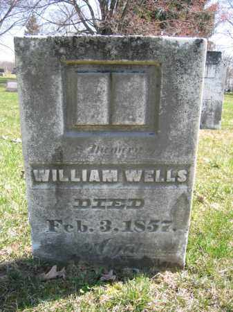 WELLS, WILIAM - Union County, Ohio | WILIAM WELLS - Ohio Gravestone Photos