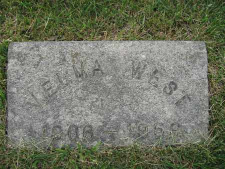 WEST, VELMA - Union County, Ohio | VELMA WEST - Ohio Gravestone Photos