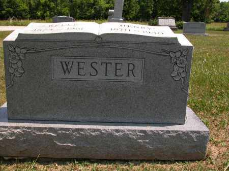 WESTER, BELLE - Union County, Ohio | BELLE WESTER - Ohio Gravestone Photos