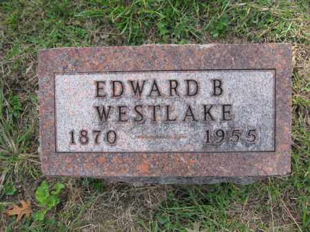 WESTLAKE, EDWARD B. - Union County, Ohio | EDWARD B. WESTLAKE - Ohio Gravestone Photos