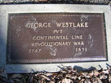 WESTLAKE, GEORGE - Union County, Ohio | GEORGE WESTLAKE - Ohio Gravestone Photos