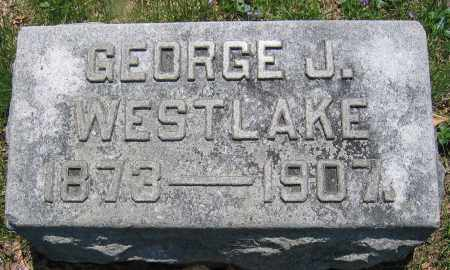 WESTLAKE, GEORGE J. - Union County, Ohio | GEORGE J. WESTLAKE - Ohio Gravestone Photos