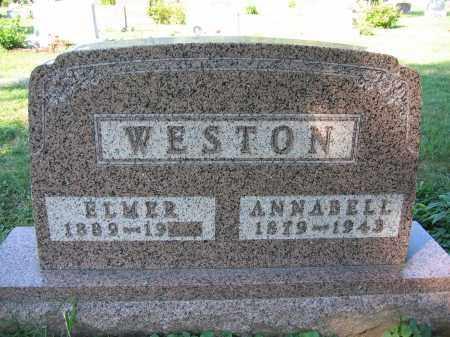 WESTON, ELMER - Union County, Ohio | ELMER WESTON - Ohio Gravestone Photos