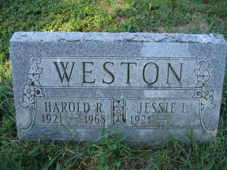 WESTON, JESSIE L. - Union County, Ohio | JESSIE L. WESTON - Ohio Gravestone Photos