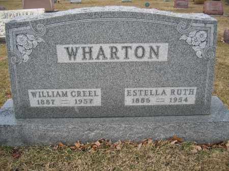 WHARTON, WILLIAM CREEL - Union County, Ohio | WILLIAM CREEL WHARTON - Ohio Gravestone Photos