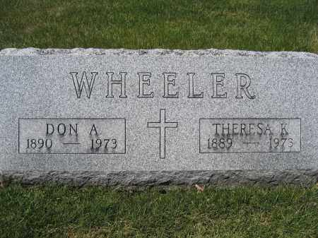 WHEELER, THERESA K. - Union County, Ohio | THERESA K. WHEELER - Ohio Gravestone Photos