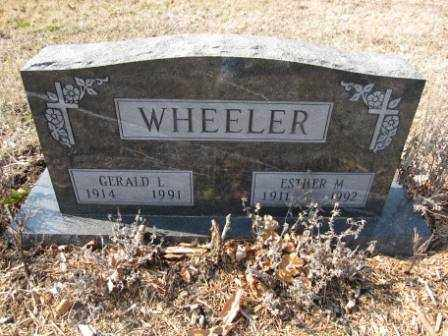 WHEELER, ESTHER M. - Union County, Ohio | ESTHER M. WHEELER - Ohio Gravestone Photos