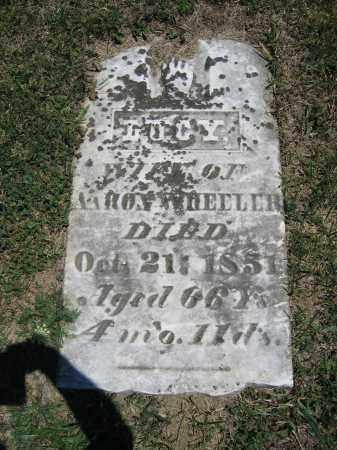 WHEELER, LUCY - Union County, Ohio   LUCY WHEELER - Ohio Gravestone Photos