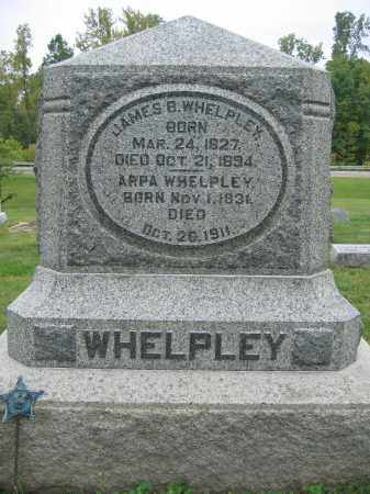 WHELPLEY, JAMES B. - Union County, Ohio | JAMES B. WHELPLEY - Ohio Gravestone Photos